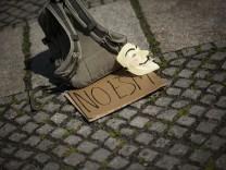 Proteste gegen ESM und Fiskalpakt