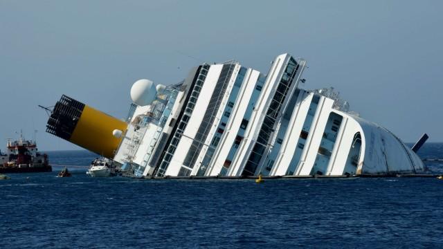 """Blackbox der """"Costa Concordia"""" soll defekt gewesen sein"""