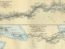 Nicaraguakanal, Panamakanal