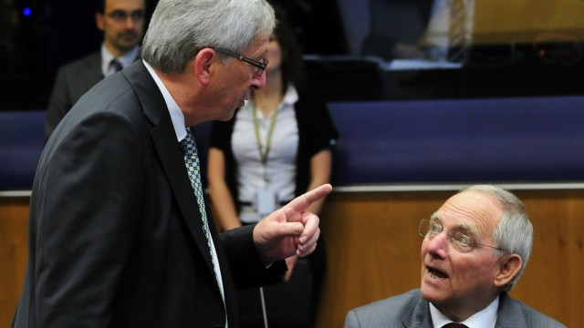 EU Eurogroup Finance Ministers Meeting in Luxembourg