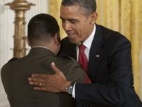 Barack Obama begrüßt Neubürger