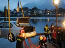 Pedale verwechselt: Auto landet im Tegernsee