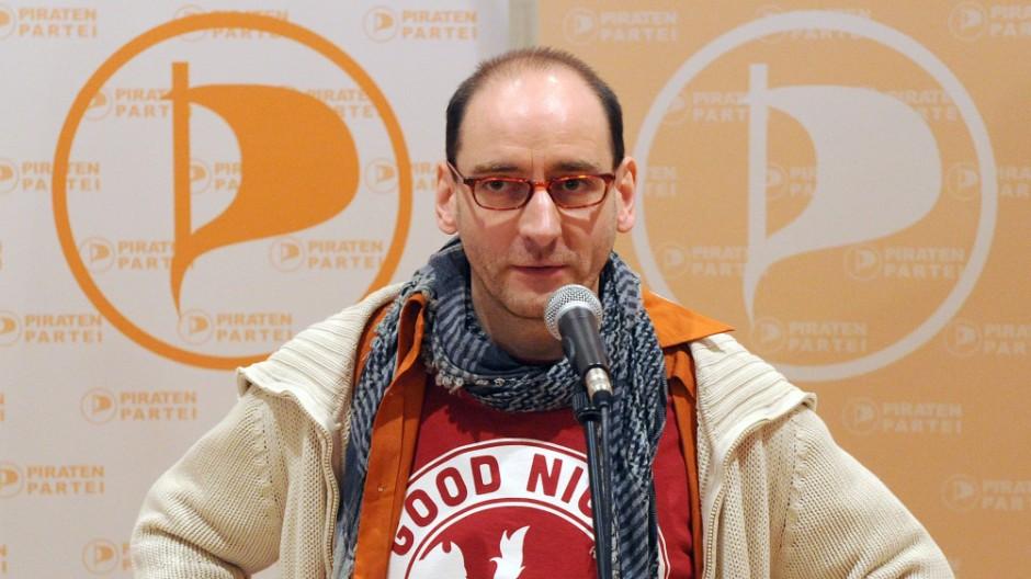 Johannes Ponader, Piratenpartei