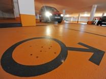 Männerparkplatz in Triberg