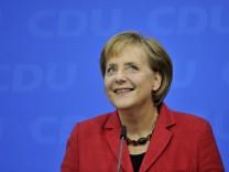 Merkel mit hoechster Zustimmung seit 2009