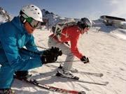 Wintersport Ski Board Österreich Skigebiet Ischgl, dpa