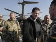 Verteidigungsminister Guttenberg, Kundus; Foto: AP