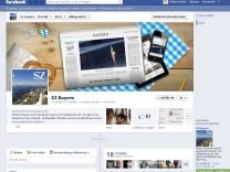 SZ Bayern auf Facebook