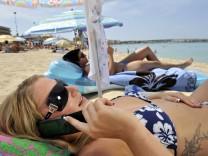 Mit Handy oder Smartphone in den Urlaub