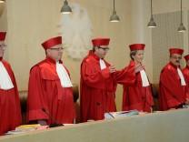 Karlsruhe verhandelt ueber Eilantraege gegen Beteiligung bei Euro-Rettung