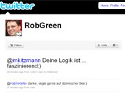 Twitter-Account @robgreen