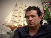 """Schettino gibt TV-Interview und bezeichnet das Unglück als """"banalen Unfall"""""""