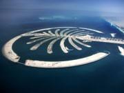 Künstliche Insel Palm Jumeirah vor Dubai, Foto: Getty Images