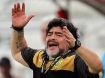 Maradona sacked by Al Wasl