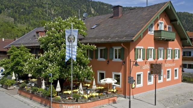 Kirchenmayer, Farchant, Landgasthof, Biergarten