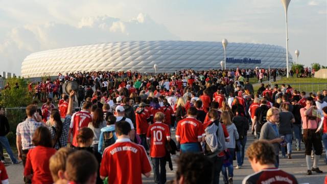 Champions League Finale - Public Viewing in der Allianz Arena