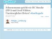 Twitter-Nachricht