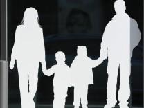 Familie und Job
