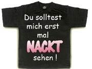 T-Shirts mit Doofsprüchen; Galerie der Hassobjekte; Sie wollen's nicht mehr sehen;