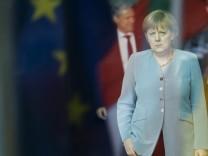 Bundeskanzlerin Merkel trifft libanesischen Ministerpraesidenten Mikati