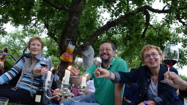 Barockpicknick Barockfest in Dachau