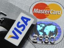 Visa und Mastercard muessen Milliarden an Einzelhaendler zahlen