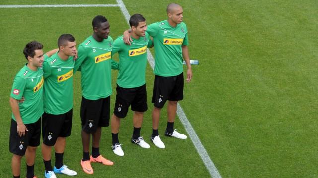 Trainingsauftakt Mönchengladbach
