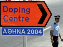 Fuenf verdaechtige Dopingproben von Olympia 2004