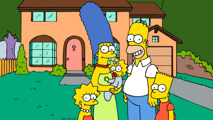 """Die Zeichentrickserie """"Die Simpsons"""""""