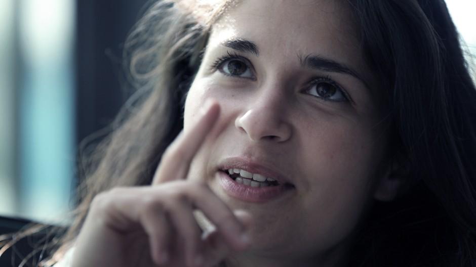 Dirigentin Nazanin Aghakhani