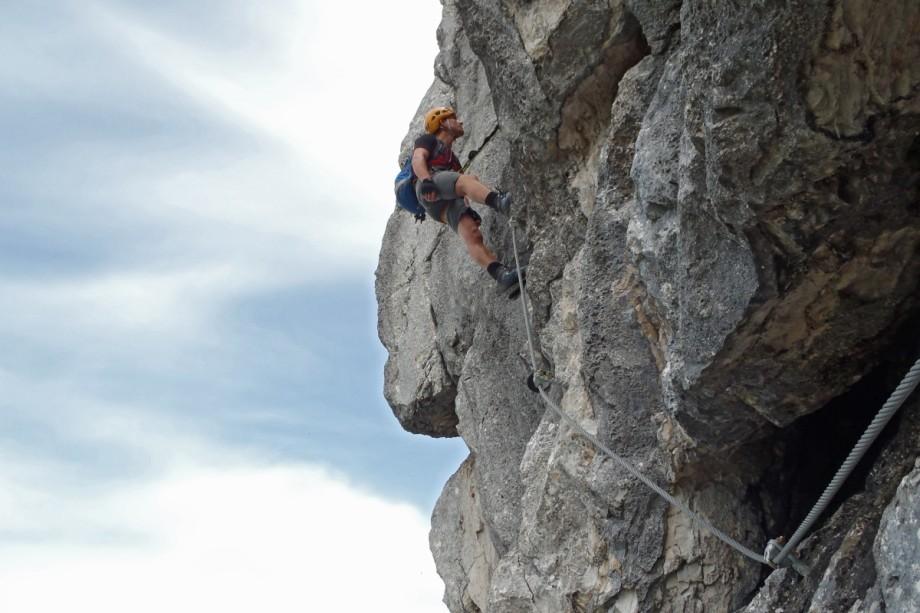 Klettersteig Tegelberg : Tegelberg klettersteig