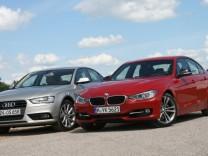 Audi A4, BMW 3er, Mittelklasse, Limousine, Oberklasse, Turbo, Vierzylinder
