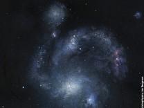 Astronomen entdecken seltene Spiral-Galaxie