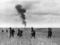 Zweiter Weltkrieg: Deutscher Angriff Richtung Stalingrad am Don-Übergang  | Second World War: German Troops attacking Stalingrad via the Don ford