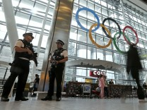 London Heathrow Streik Sicherheitspersonal Olympische Spiele