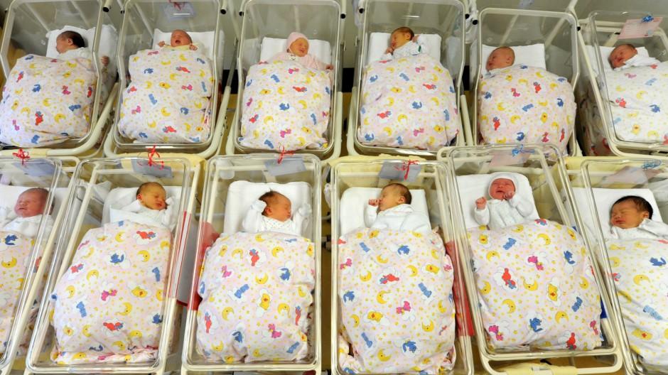 Immer mehr Kinder kommen per Kaiserschnitt auf die Welt