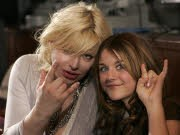 Courtney Love, Frances Bean; Foto: AP