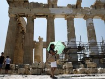 High temperatures in Athens