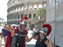 Rom Italien Europa Kolosseum Gladiatoren