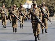 Soldaten, Rawalpindi, Pakistan, AFP