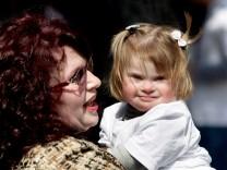 Kinder mit Down-Syndrom: Eltern sind glücklich