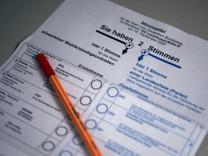 Streit ums Wahlrecht