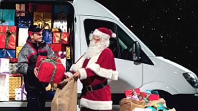 Unternehmen Geschenke auf dem Postweg
