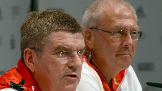 Olympia 2012: Pressekonferenz Deutsches Haus