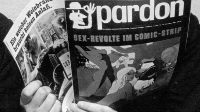 """Satire-Magazin """"Pardon"""" in den 60er Jahren"""