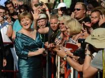 Angela Merkel in Bayreuth, 2012