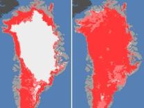 Nasa: Oberflächeneis auf Grönland schmolz im Juli auf 97 Prozent