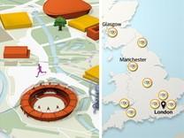 Olympia Karte interaktiv Teaser