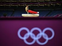 Olympia 2012: Training Turnen.