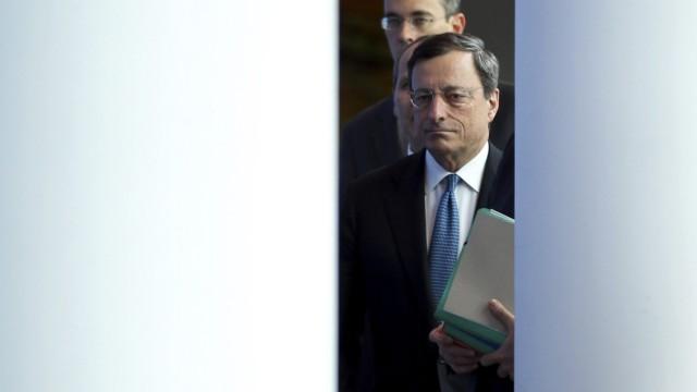 EZB-Chef Mario Draghi will den Euro um jeden Preis retten